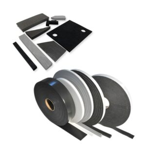 One-sided adhesive tapes